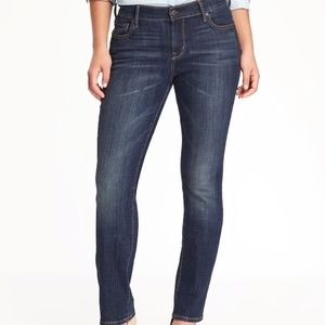 Mid-Rise Curvy Straight Jeans for Women 8 TALL